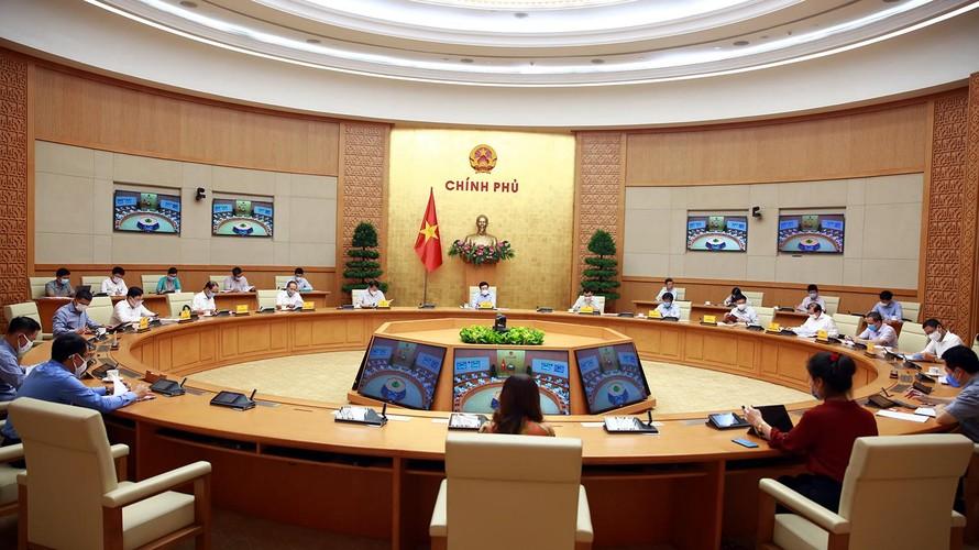 Phó Thủ tướng Phạm Bình Minh chủ trì cuộc họp