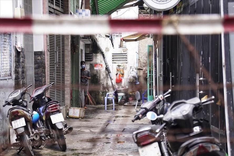 Địa điểm sinh hoạt của Hội thánh truyền giáo Phục hưng (phường 3, quận Gò Vấp, TPHCM) đã được khoanh vùng.