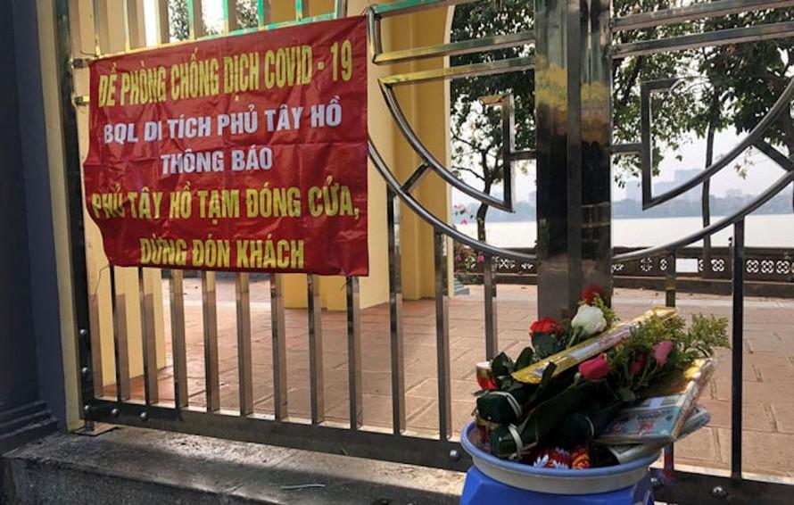 Hà Nội: Tạm dừng hoạt động các cơ sở tôn giáo, tín ngưỡng