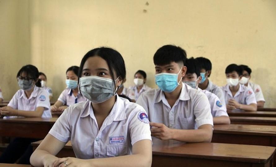 Phú Yên: Gần 50% trường THPT được xét duyệt thí sinh