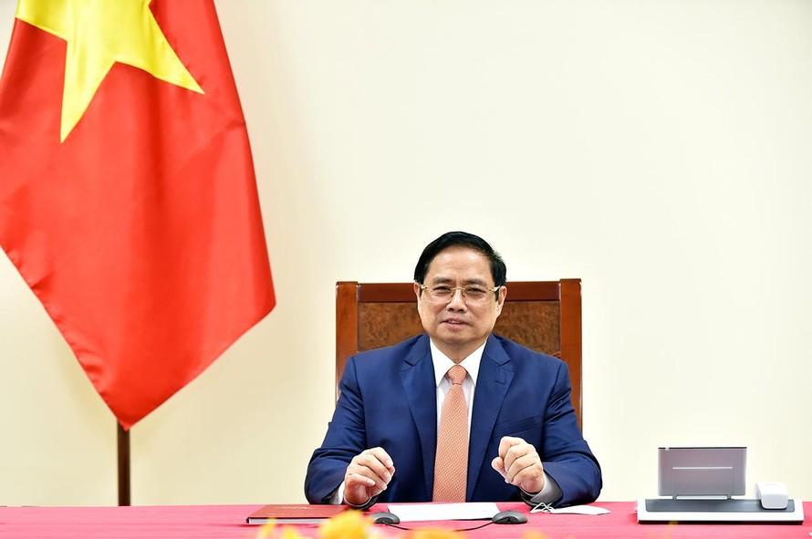 Thủ tướng Phạm Minh Chính đề nghị Đức hợp tác chuyển giao công nghệ vaccine COVID-19