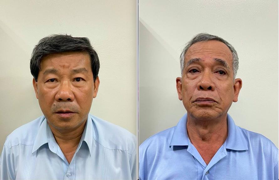 Bị can Trần Thanh Liêm và bị can Phạm Văn Cành