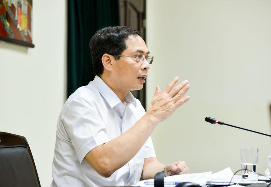 Bộ trưởng Ngoại giao Bùi Thanh Sơn chỉ đạo cần triển khai mạnh mẽ, quyết liệt và đồng bộ công tác đối ngoại đa phương trong tình hình mới.