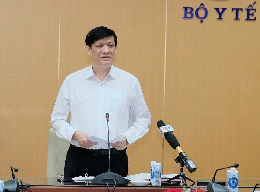 Bộ trưởng Bộ Y tế Nguyễn Thanh Long đề nghị các địa phương đánh giá rà soát lại các kịch bản đã đưa ra, chuẩn bị cho tình hình dịch phức tạp hơn