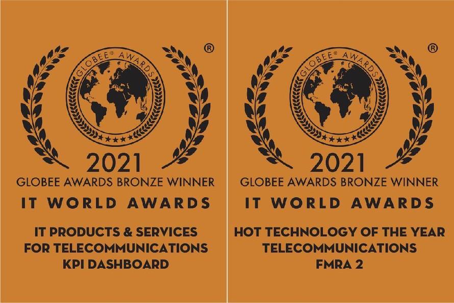 Hai sản phẩm chuyển đổi số của Viettel Telecom được vinh danh tại IT World Awards 2021