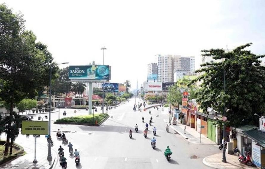 Ngã năm Hoàng Văn Thụ-Nguyễn Văn Trỗi, quận Tân Bình, Thành phố Hồ Chí Minh.
