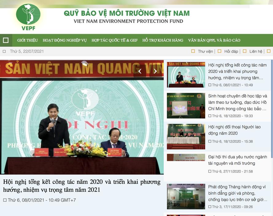 Giám đốc Quỹ Bảo vệ Môi trường Việt Nam lên tiếng về thông tin hoạt động kém hiệu quả
