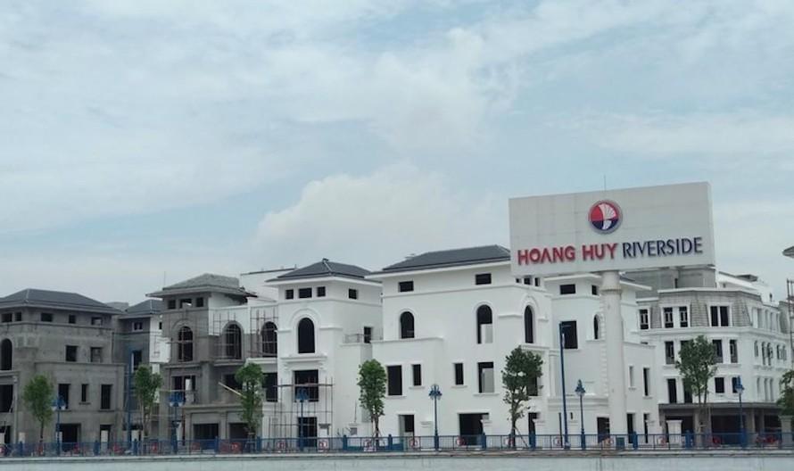 Hoàng Huy Group: 'Tồn kho' sản phẩm bất động sản chưa bàn giao, giảm 55% lãi trong quý II/2021