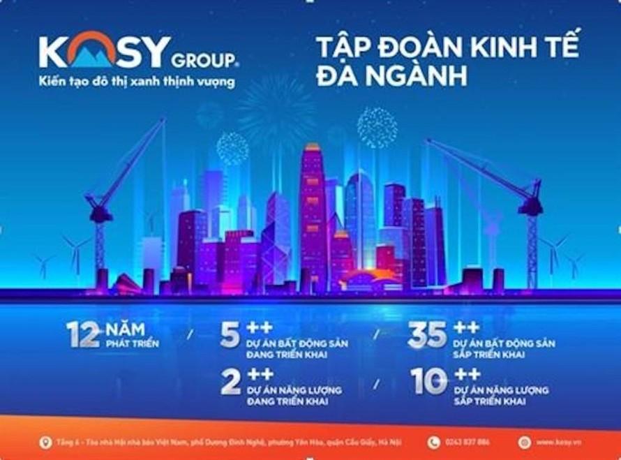 Kosy Group nỗ lực trả nợ, dòng tiền lưu động rất khiêm tốn