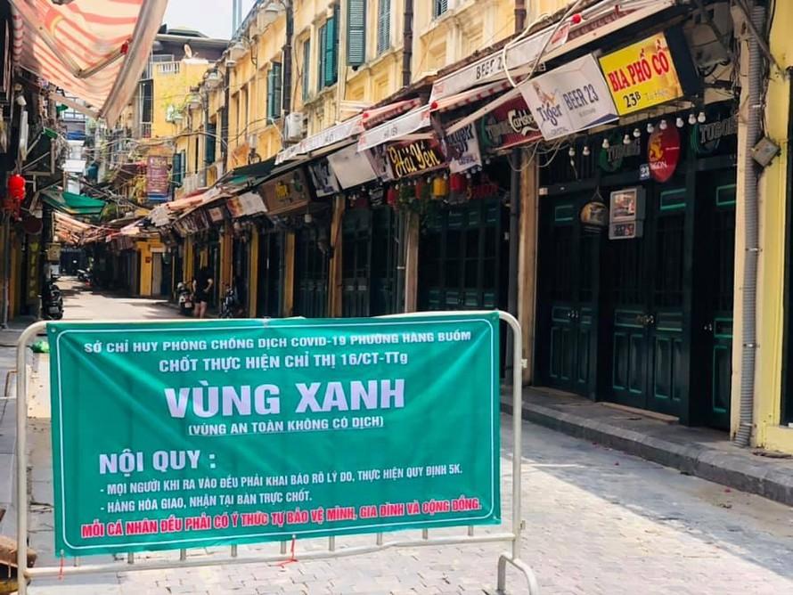 Hà Nội tiếp tục thực hiện giãn cách xã hội đến 6h ngày 23/8