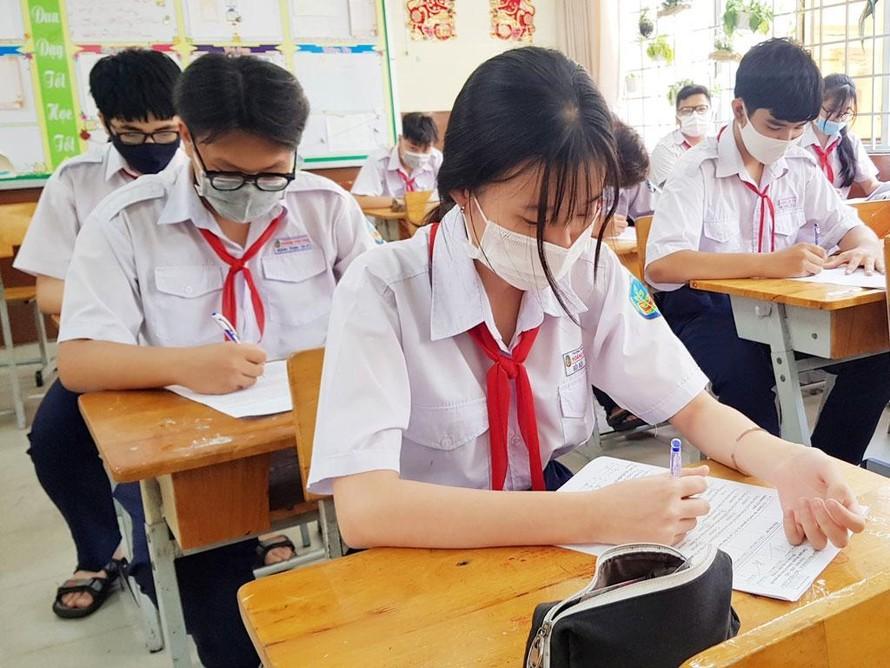 TP.HCM công bố điểm chuẩn vào lớp 10