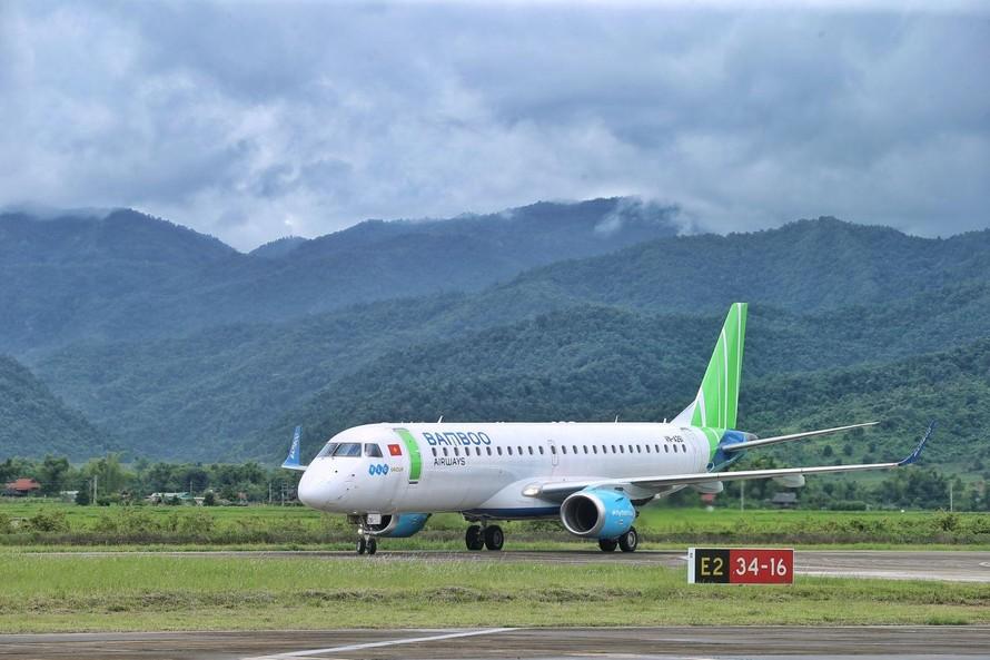Cục Hàng không: 'Chuyến bay Bamboo Airways khởi đầu trang sử mới của ngành hàng không Điện Biên'