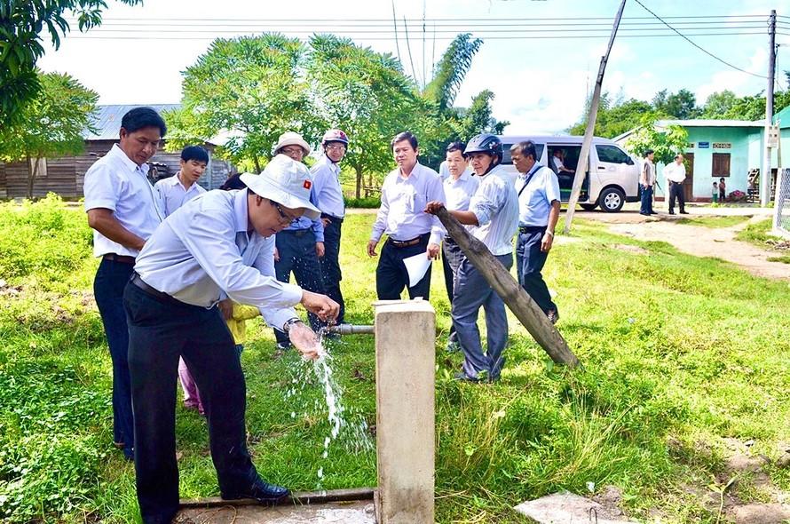 Dự án đầu tư cấp nước sạch nông thôn sẽ được ưu tiên hỗ trợ