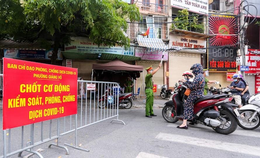 Hà Nội: Giám sát nghiêm ngặt việc giãn cách xã hội dịp lễ Quốc khánh 2/9