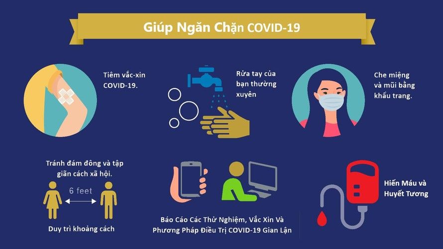9 dụng cụ bảo vệ cá nhân trong phòng, chống COVID-19