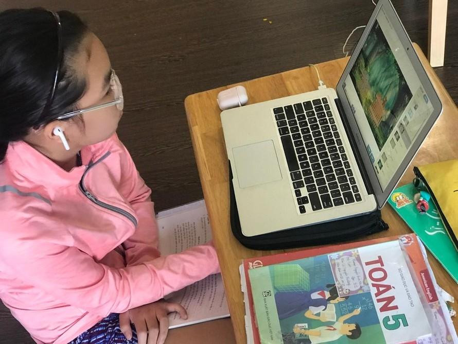 Học sinh Thành phố Hồ Chí Minhh học online hết học kỳ I
