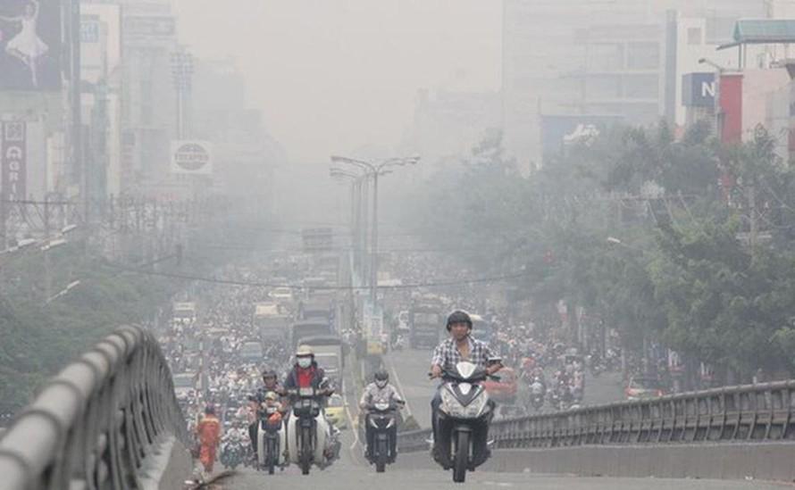 Không khí tại một số điểm ở Bắc Bộ ảnh hưởng không tốt đến sức khỏe