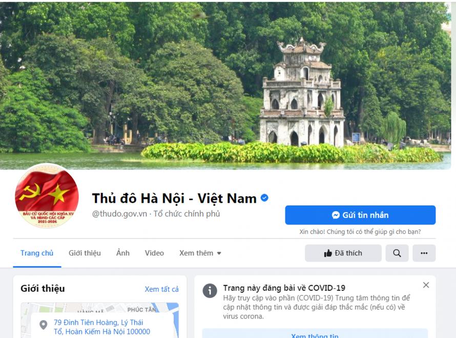 Xử lý nghiêm các trang, nhóm cố tình giả mạo thông tin của chính quyền Hà Nội