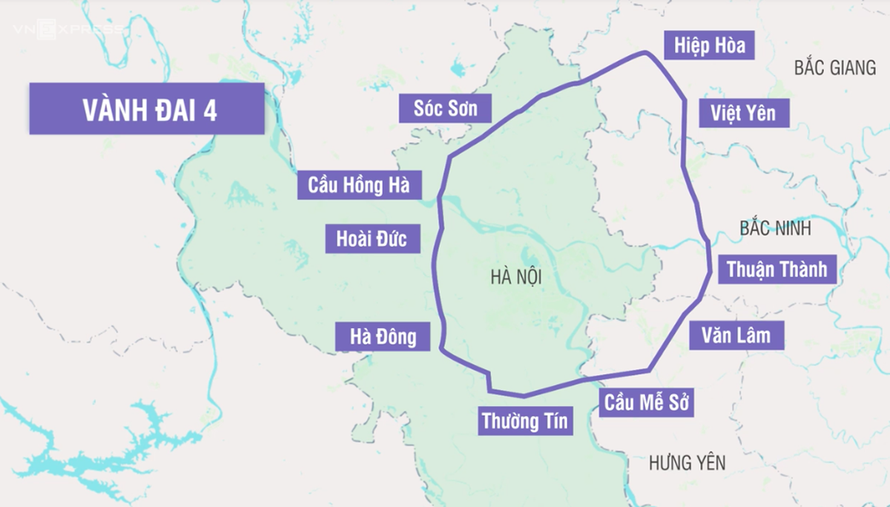 Dự án đường Vành đai 4 Hà Nội: Thành lập Hội đồng thẩm định