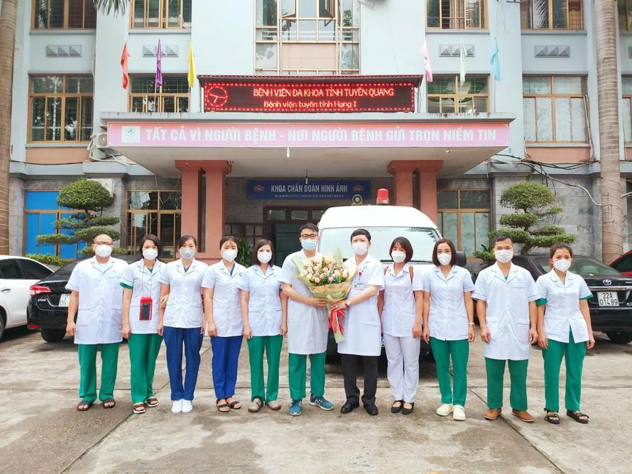 Tuyên Quang bác bỏ tin về trường hợp mắc COVID-19