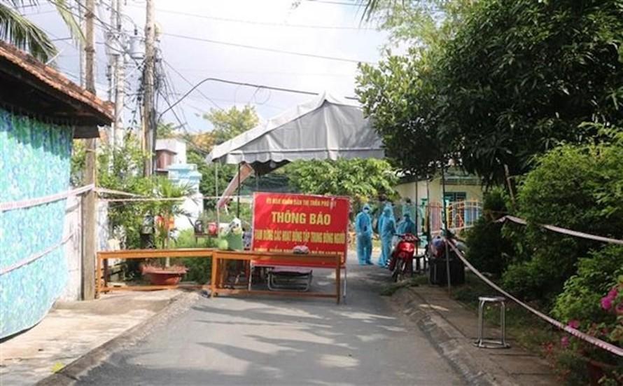 An Giang dồn lực kiểm soát ổ dịch mới tại huyện Phú Tân