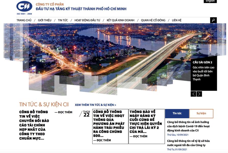 CII huy động 500 tỷ đồng trái phiếu để đầu tư cho 2 dự án và trả nợ