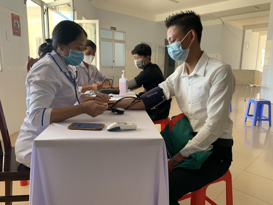 Lâm Đồng tiêm vaccin cho công nhân ngoài khu công nghiệp