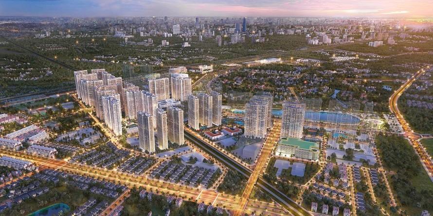Vinhomes Smart City mở bán SA2 – Toà tháp căn hộ đầu tiên của phân khu The Sakura
