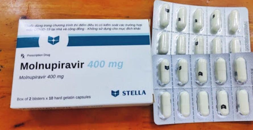 Bộ Y tế đưa thuốc Molnupiravir vào phác đồ điều trị COVID-19