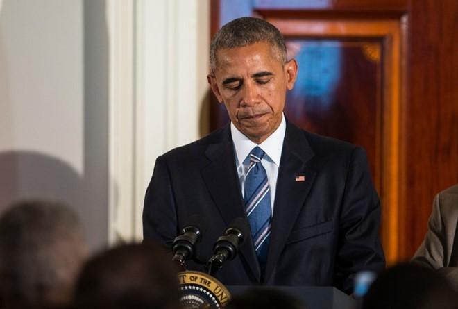 Quyết định phủ quyết của ông Obama lần đầu tiên bị Quốc hội Mỹ lật ngược. Ảnh: New York Times.