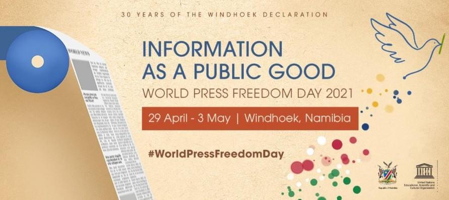 Hội nghị Tự do Báo chí Thế giới 2021 (Ảnh: UNESCO)