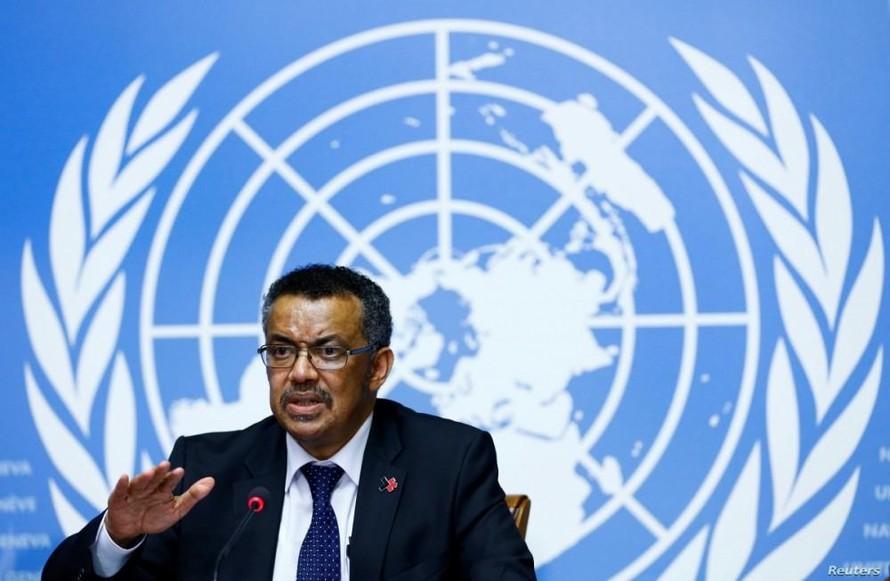 Tổng Giám đốc WHO Tedros Adhanom Ghebreyesus. (Nguồn: Reuters)