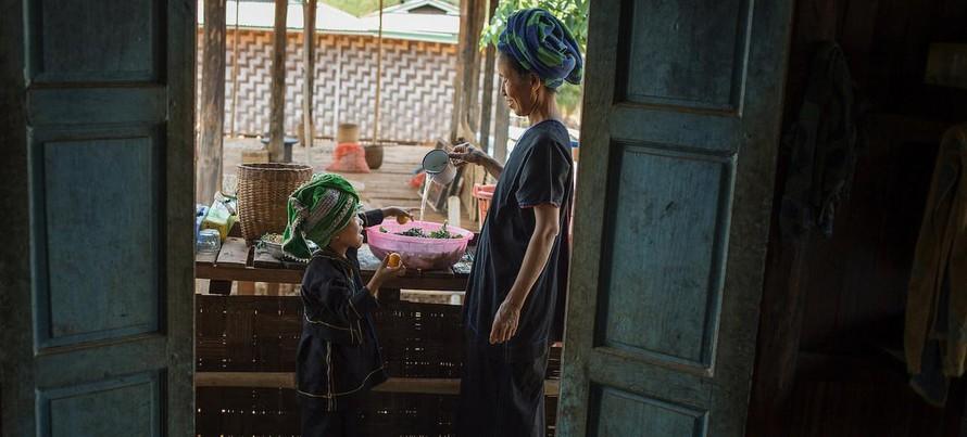 Theo WFP, giá thực phẩm đã tăng mạnh kể từ khi bắt đầu cuộc khủng hoảng chính trị ở Myanmar. (Ảnh: UNICEF/Kaung Htet)