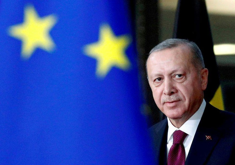 Tổng thống Thổ Nhĩ Kỳ ban bố lệnh phong tỏa hoàn toàn từ ngày 29/4 nhằm hạn chế sự lây lan của Covid-19. (Ảnh: Reuters)