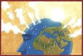 Sự nóng lên toàn cầu là một cuộc khủng hoảng toàn cầu đòi hỏi một sự thay đổi cơ bản trong thái độ. (Ảnh: UNESCO)