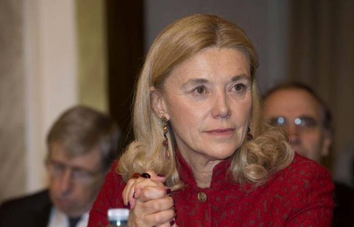 Bà Elisabetta Belloni (Ảnh: italy24news)