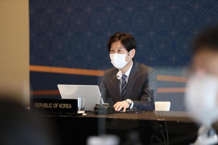 Park Jae-kyung, Vụ trưởng Vụ các vấn đề ASEAN và Đông Nam Á của Bộ Ngoại giao Hàn Quốc. (Ảnh: Yonhap)