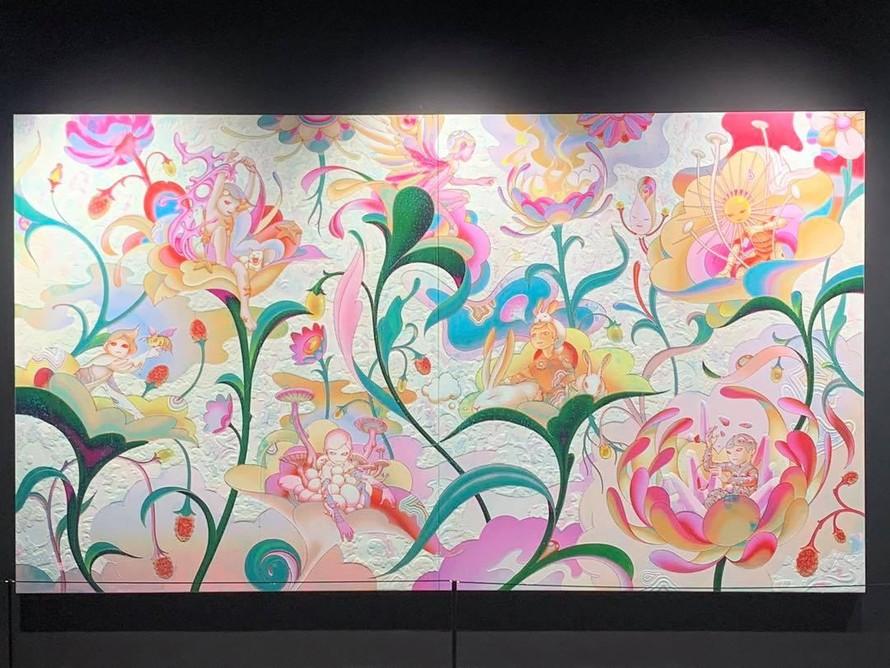 7 tinh linh trong một khu vườn đầy màu sắc