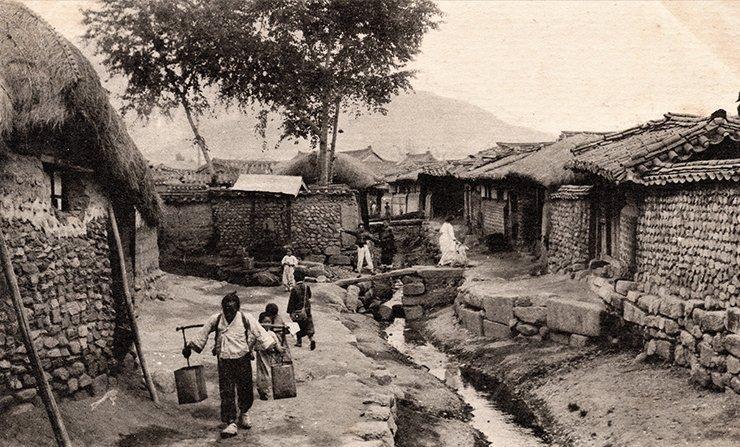Seoul cuối thế kỷ 19, đầu thế kỷ 20.