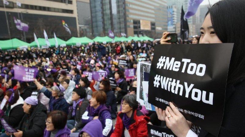 Phong trào #MeToo chống lạm dụng tình dục diễn ra mạnh mẽ tại Hàn Quốc. (Ảnh: Asia News)