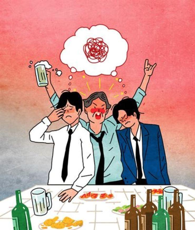 Thanh niên Hàn Quốc thích văn hóa làm việc thời COVID-19 hơn vì không cần 'say xỉn'