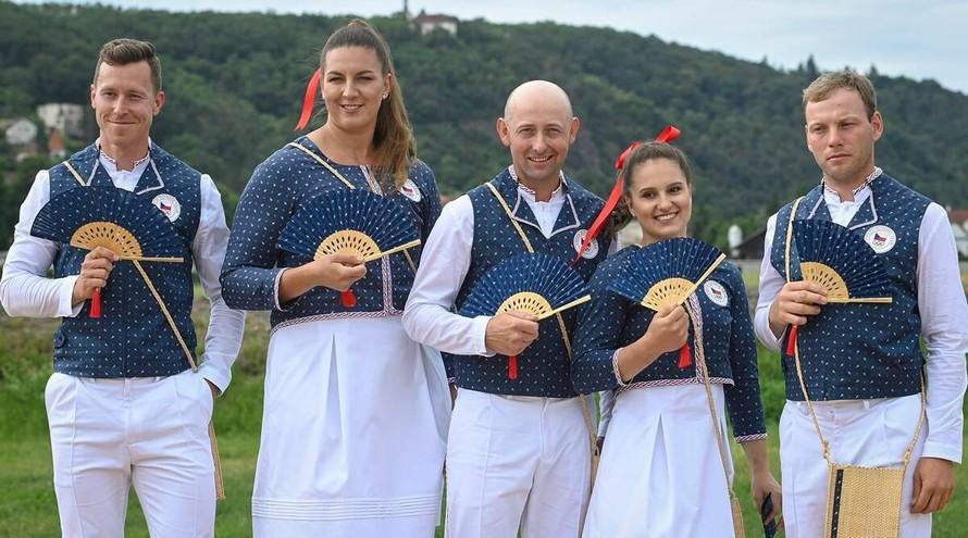 Tại Thế vận hội Tokyo 2020, đội tuyển Cộng hòa Séc sẽ mặc đồng phục thể thao do Zuzana Osaka thiết kế (Nguồn: AP)