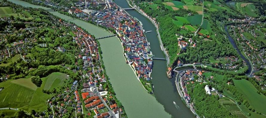 Biên giới của Đế chế La Mã - Danube Limes (Phân đoạn phía Tây) trải dài trên lãnh thổ của ba nước Áo, Đức và Slovakia.