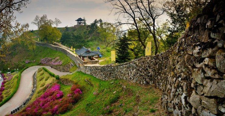 Quần thể di tích lịch sử Vương triều Baekje. (Ảnh: Cục quản lý di sản văn hóa Hàn Quốc)
