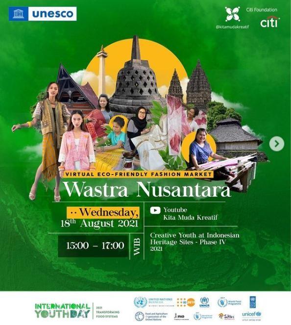 Indonesia: Thời trang bền vững và Chợ ảo Wastra Nusantara