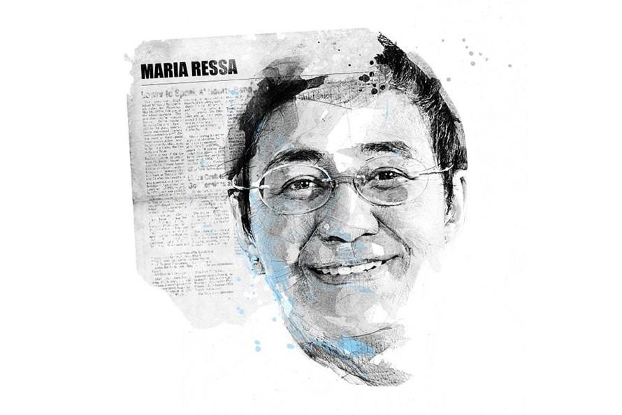 Nữ nhà báo Maria Ressa đã trở thành một biểu tượng của cuộc đấu tranh cho tự do báo chí tại Philipines. Ảnh: ifex