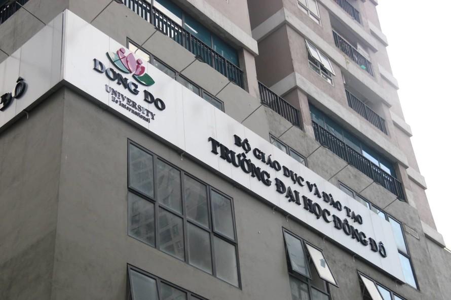 Bộ Giáo dục khẳng định Trường ĐH Đông Đô đào tạo 'chui' văn bằng 2