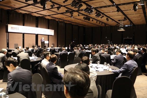 Quang cảnh Diễn đàn kinh tế Việt Nam tại Hàn Quốc ngày 29/10. (Ảnh: PV/Vietnam+)