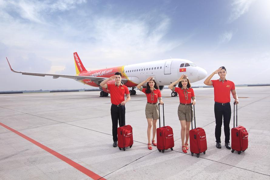 Du lịch an toàn, rảnh tay với 15kg hành lý ký gửi miễn phí cùng Vietjet