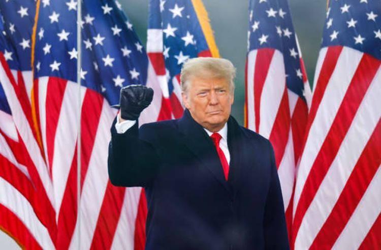 Tổng thống Trump trong một sự kiện ngày 6/1. Ảnh: Reuters